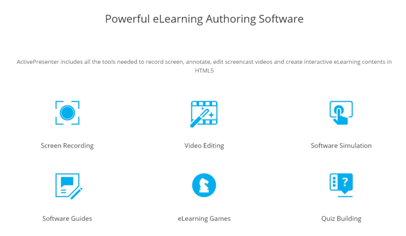 Active Presenter - Powerful E-Learning Software
