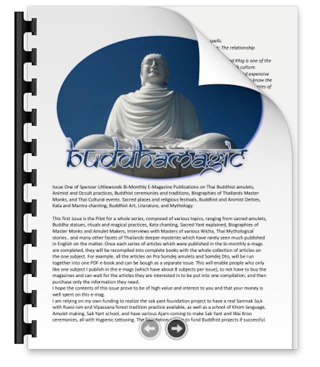 Buddha Magic 1 Cover Page