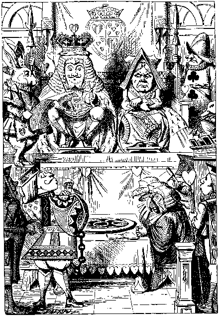 United Nations is more ridiculous than the courts, which are inthemselves, as Ridiculous as the Courtroom of the Queen of Hearts in Lewis Carrol's Alice in Wonderland and Through the Looking Glass