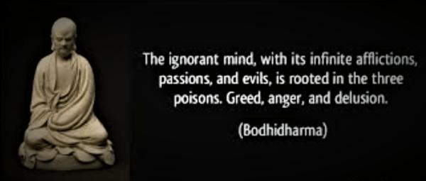 The Ignorant Mind Buddha Quote