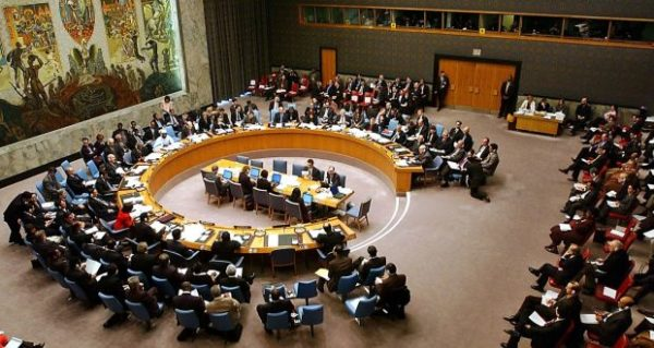 5 Assholes in the United Nations Security Council needed to get a 'Yes'