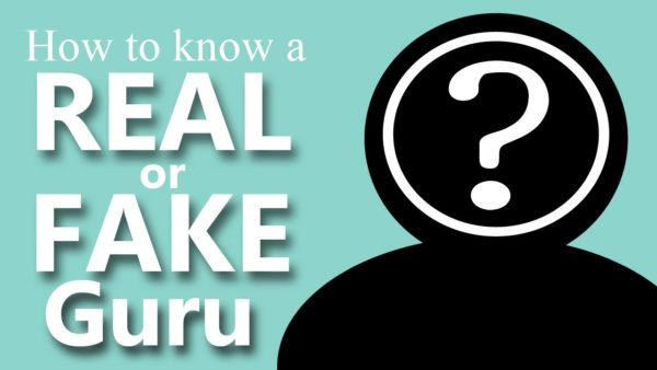 How to Tell a Real or Fake Guru